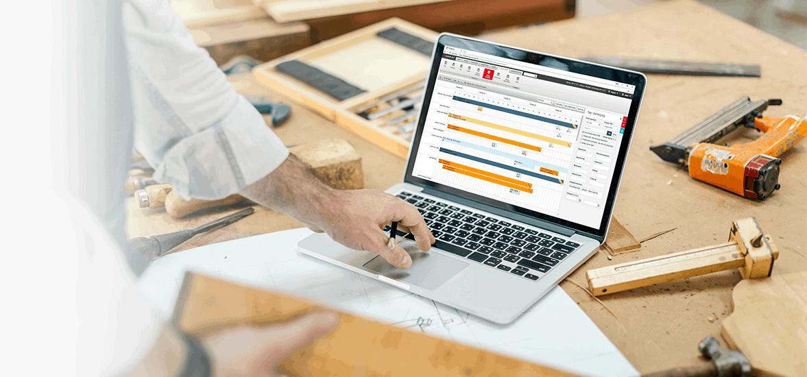 E-Komplet planlægningsværktøj på PC